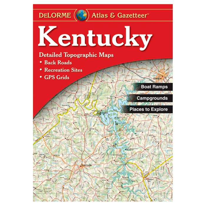 Details about Delorme Kentucky Topographical Road Atlas & Gazetteer