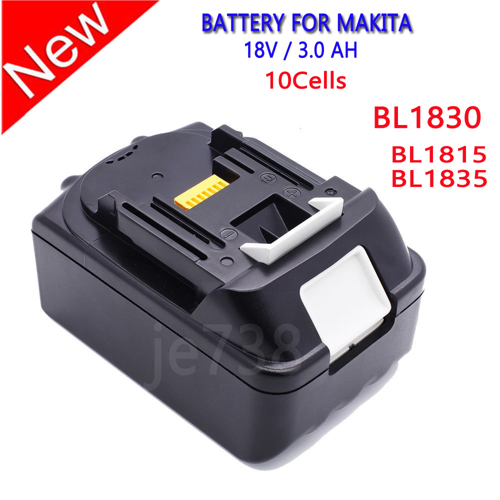 18v 18 volt lxt lithium ion 3 0 ah replace battery for - Batterie makita 18v ...