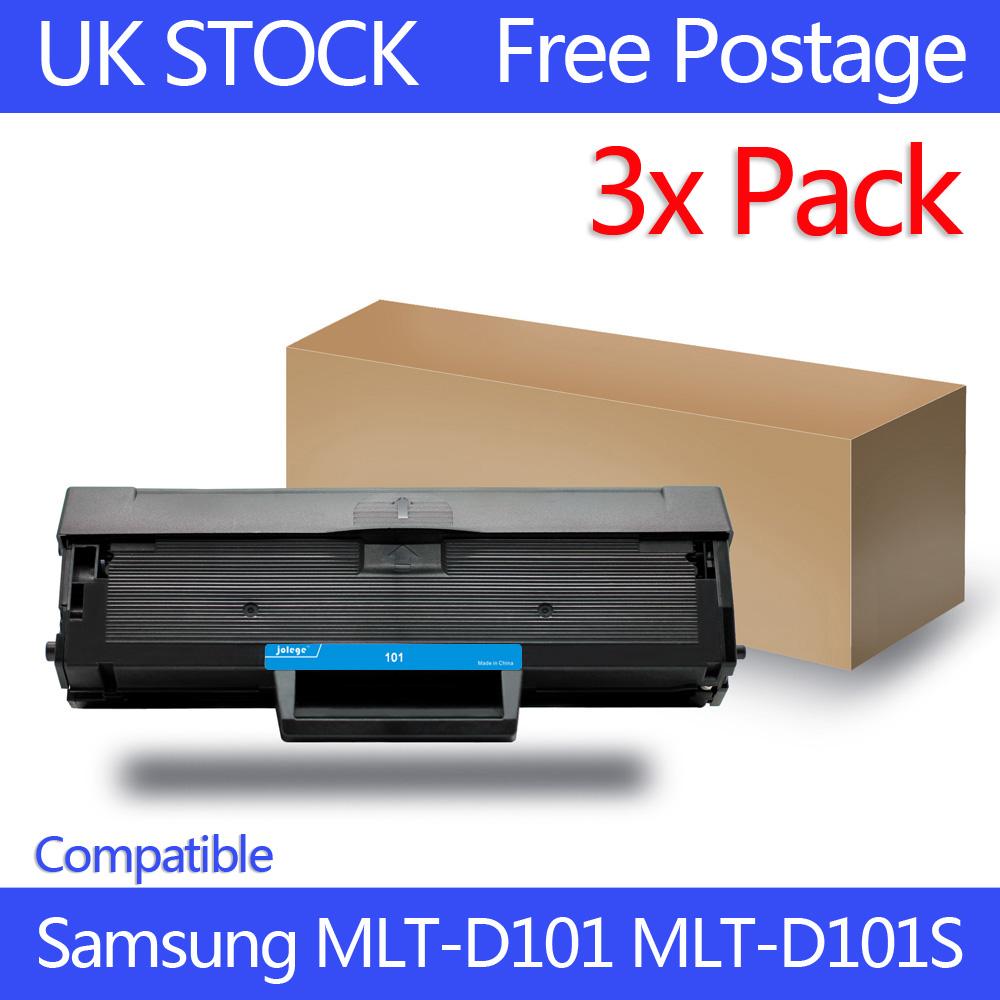 3 PK Toner MLT-D101L for Samsung Laser ML-2165W SCX-3405W ...