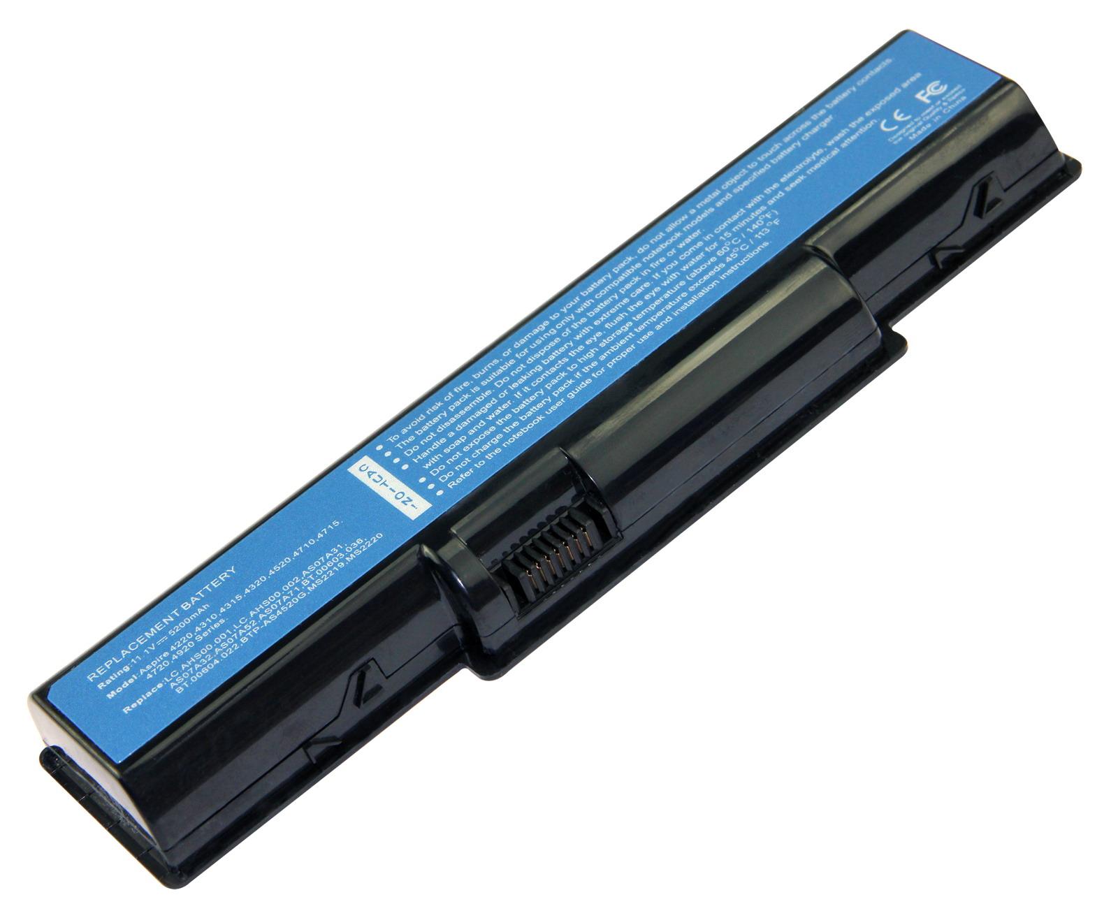 Battery-for-Acer-Aspire-4710-4715Z-4720G-4730-4730Z-4732Z-4736G-AS07A41-Lot