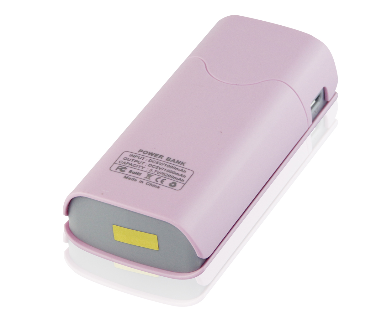 portable charger for iphone portable power bank 5200mah battery charger for mobile 15883