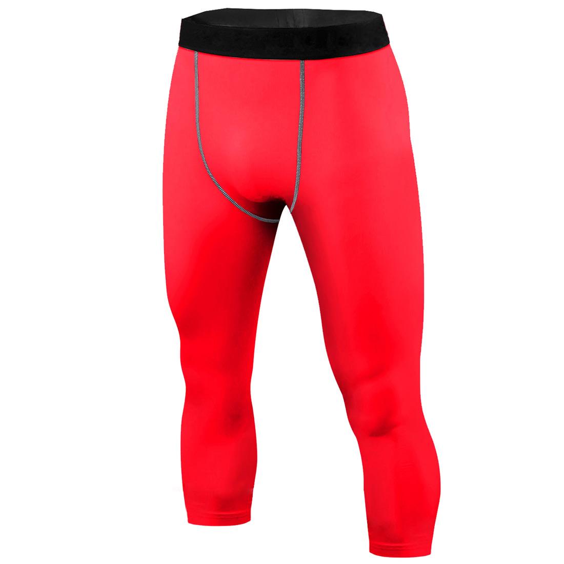 Mens Under Compression Tops Shorts Pants Running Tights Cycling Base