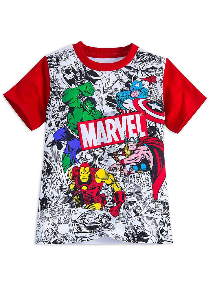 21033d34a34 Disney Store Boys Marvel Comics T-Shirt