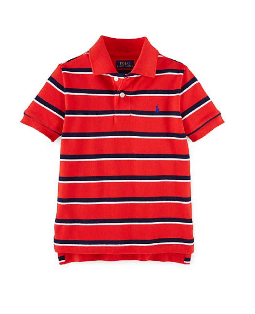 Ralph Lauren Boys Striped Cotton Polo Shirt Ebay