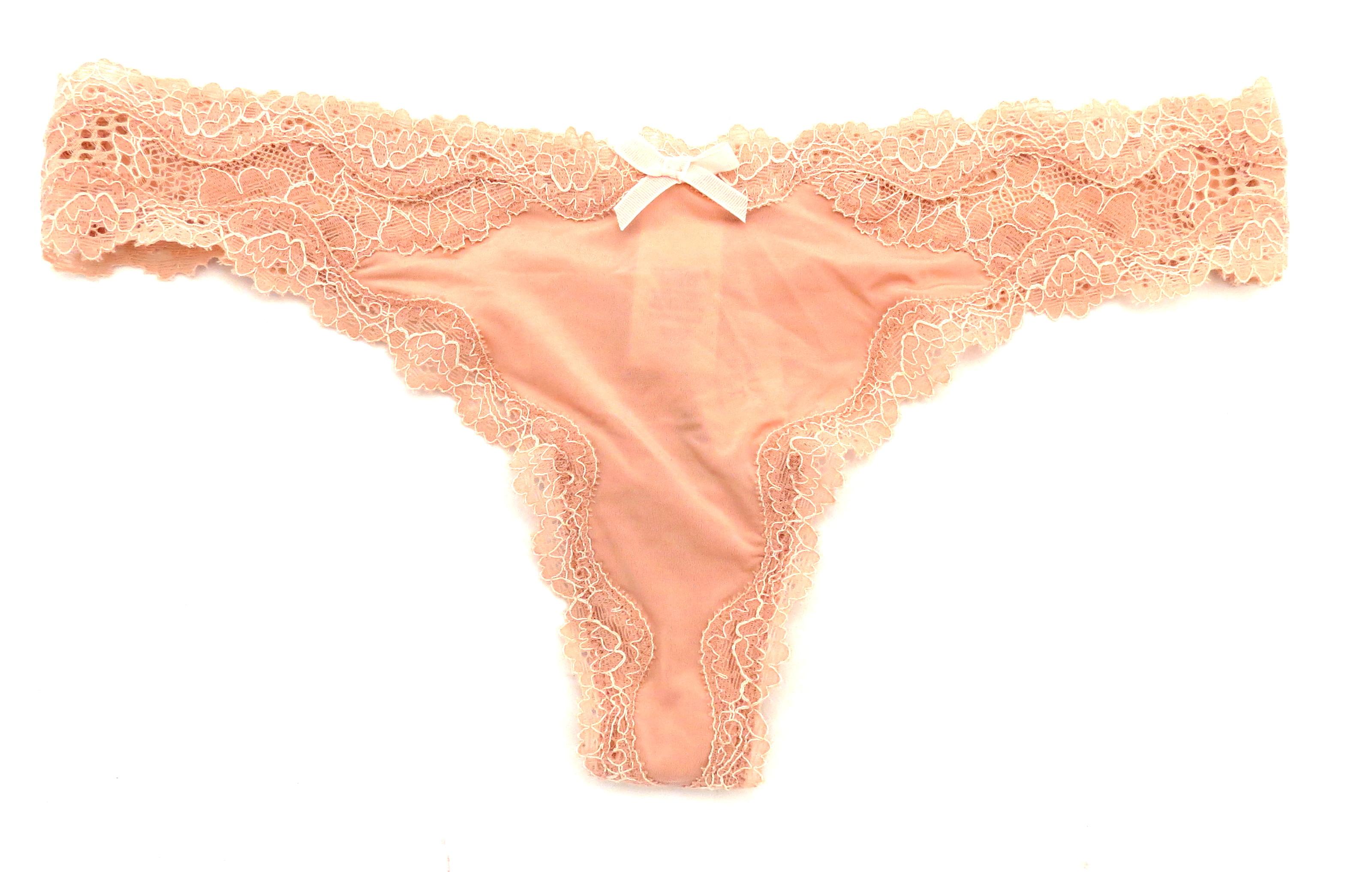 c78d7ad3760 Victoria's Secret Dream Angels Lace Trim Thong Panty Panties | eBay