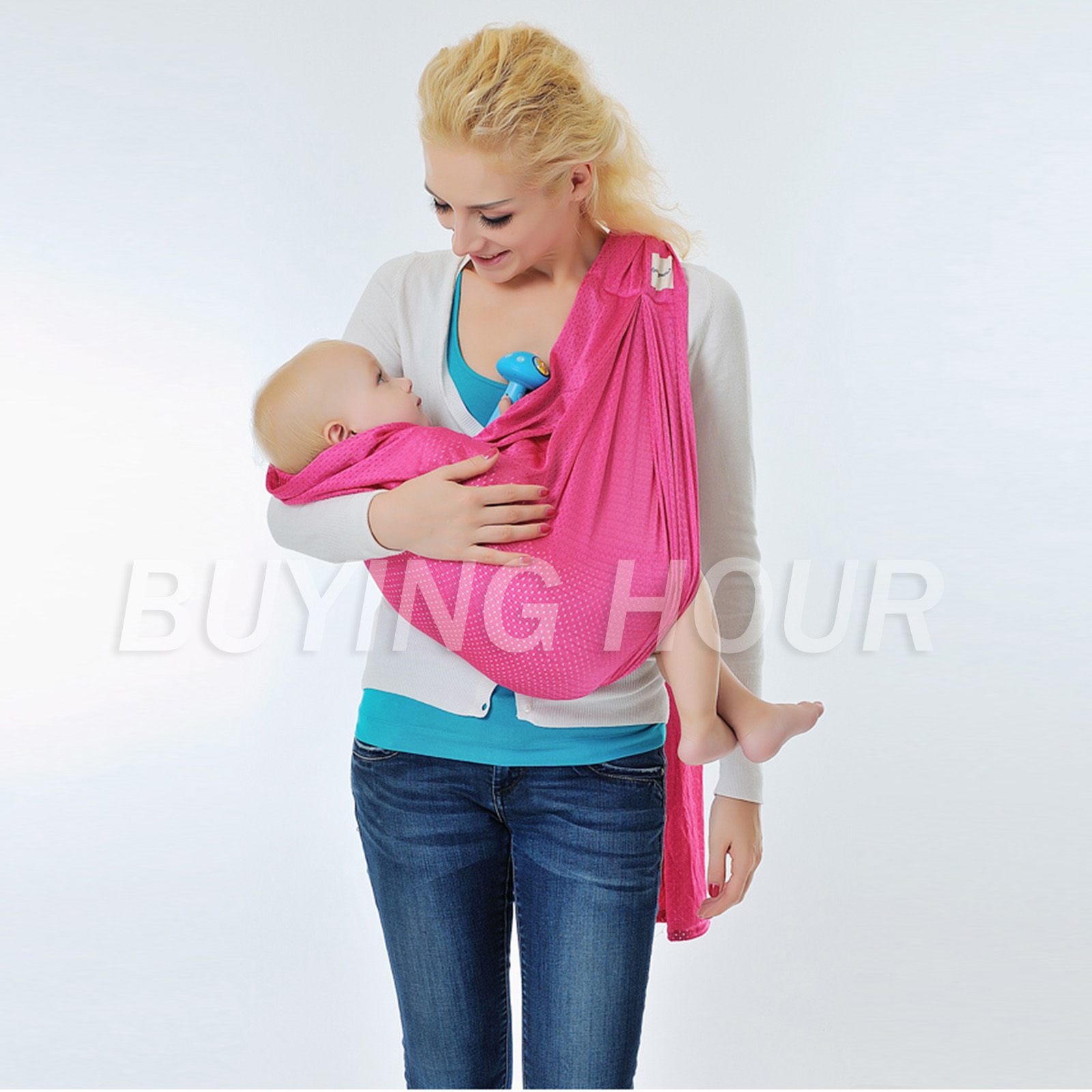 Infant Baby Water Proof Wrap Up To 3m Double Ring Sling