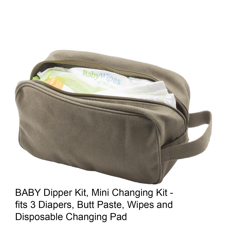 TEAM-INSTINCT-Canvas-Shower-Kit-Travel-Toiletry-Bag-Case thumbnail 10