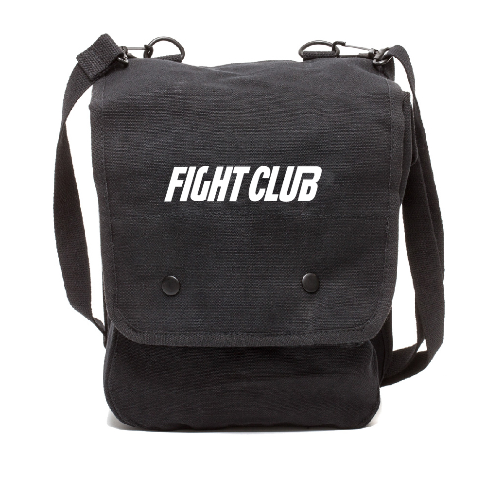 FIGHT CLUB Fighting Boxing Heavyweight Canvas Duffel Bag