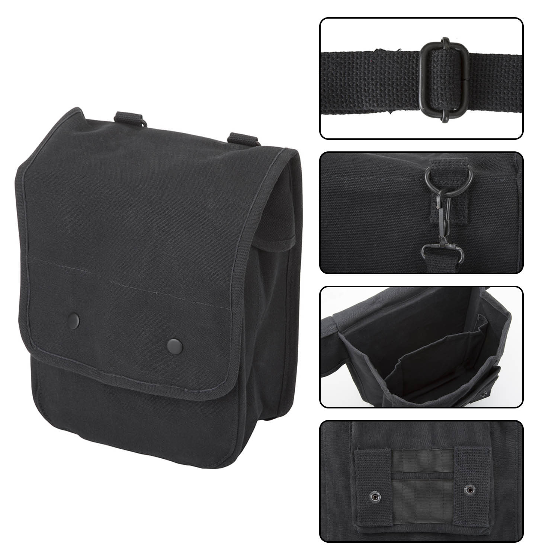 Ruger-Firearms-Canvas-Crossbody-Travel-Map-Bag-Case miniatuur 5