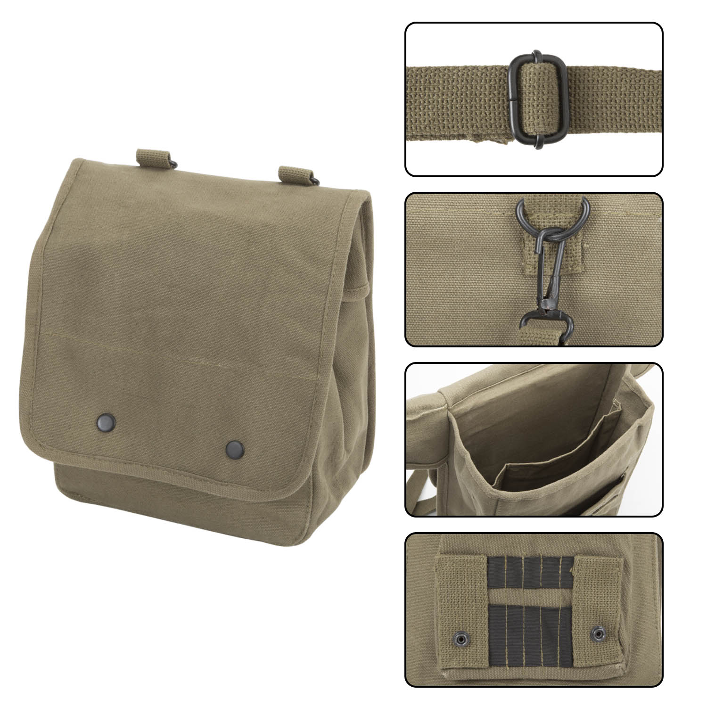 Ruger-Firearms-Canvas-Crossbody-Travel-Map-Bag-Case miniatuur 9
