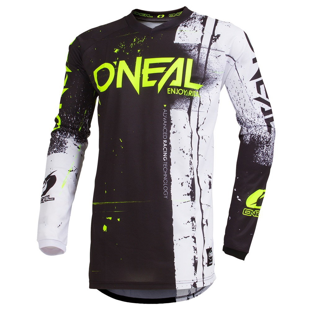 ONEAL ELEMENT Youth Jersey SHRED Black/Orange image