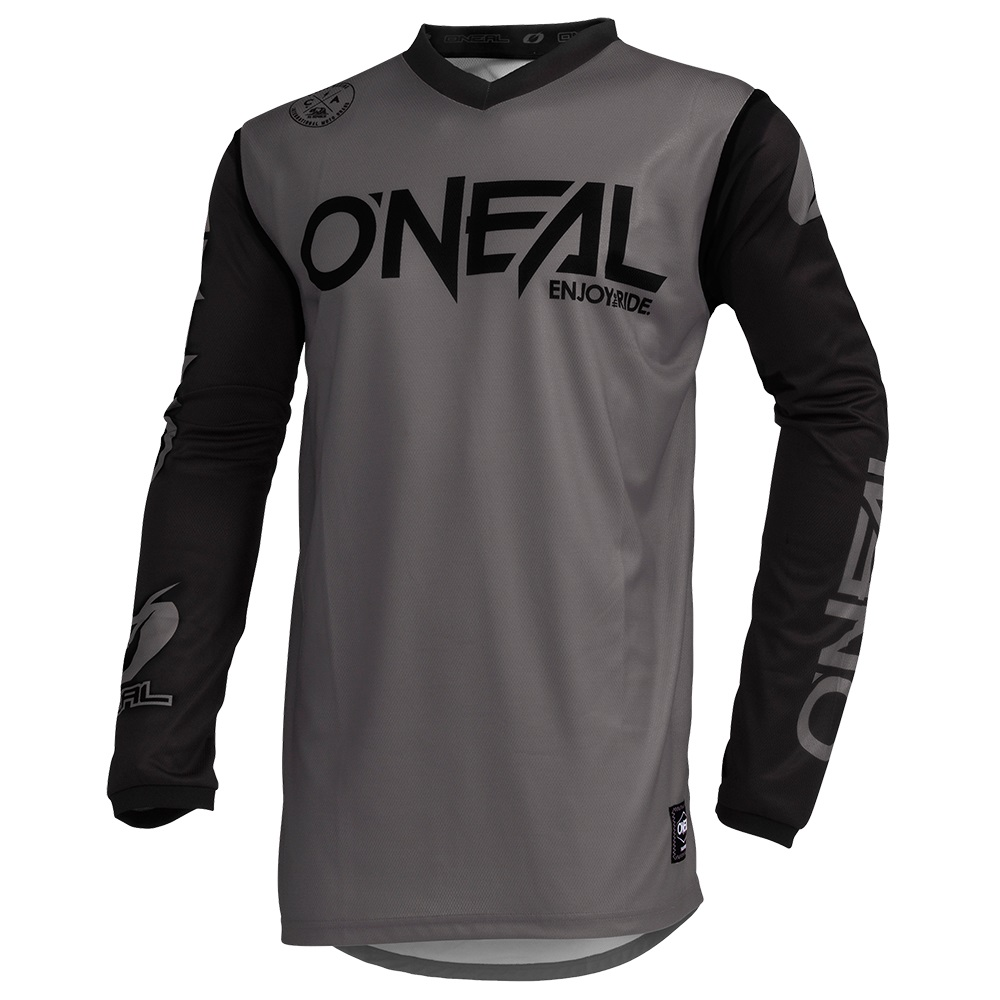 ONEAL THREAT Jersey Rider Neon Yellow/Grey/Teal image