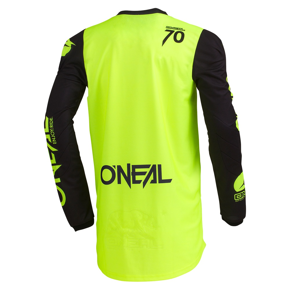 ONEAL THREAT Jersey Rider Neon Yellow/Grey/Teal