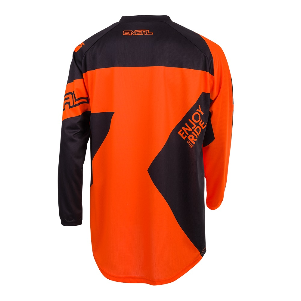 ONEAL MATRIX Off-Road Motorcross Jersey Top (Yellow/Black/Orange)
