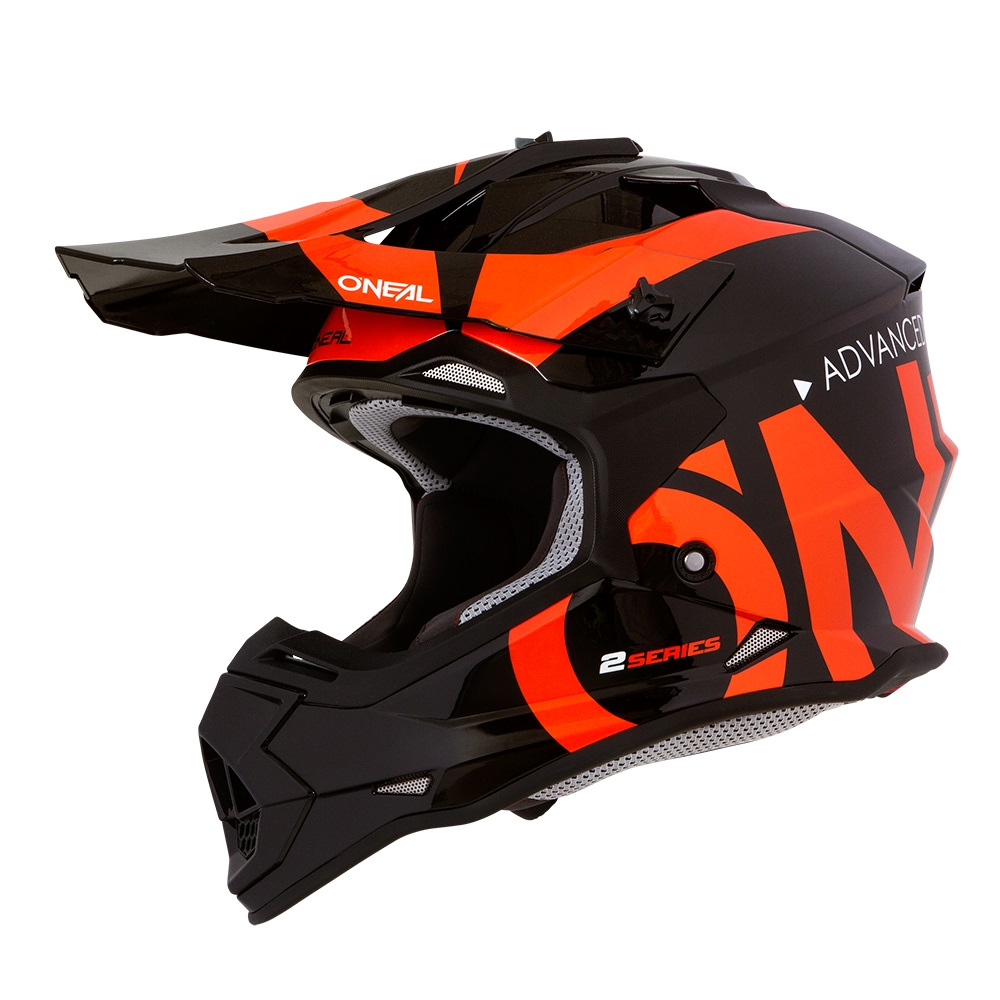 ONEAL RL SLICK Orange/Black MotoX Helmet