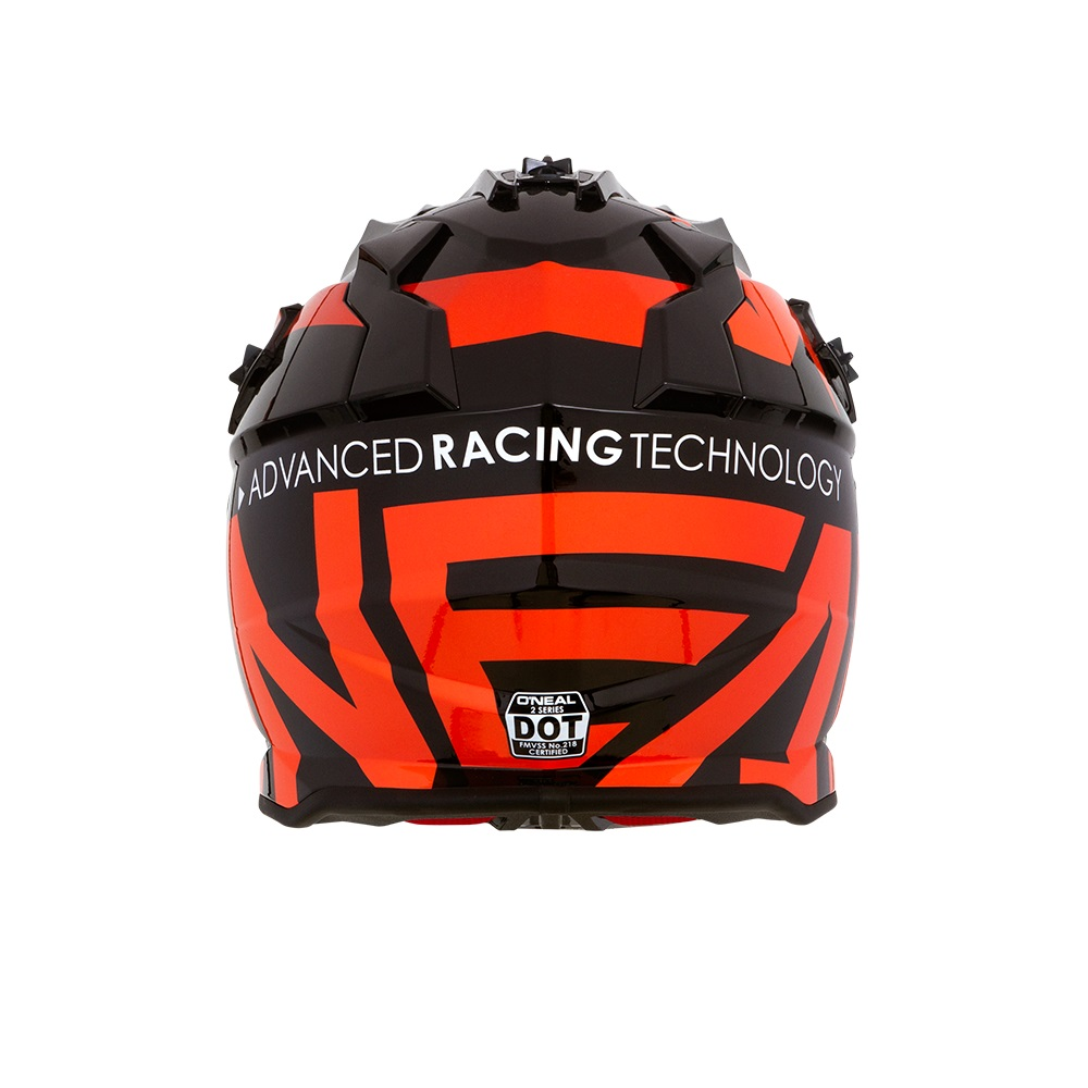 ONEAL 2Series SLICK Kids Motocross Helmet (Black/Orange)