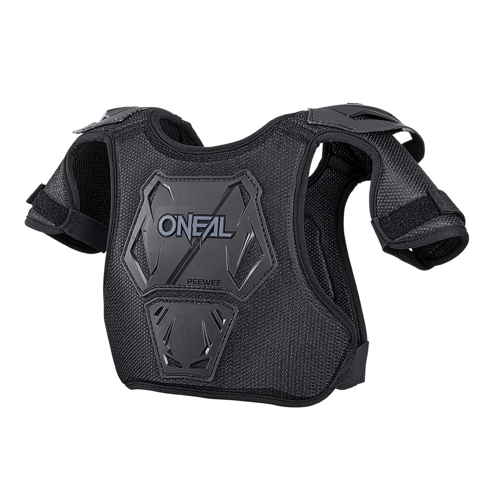 ONEAL PEEWEE Chest Guard Black/Neon Yellow