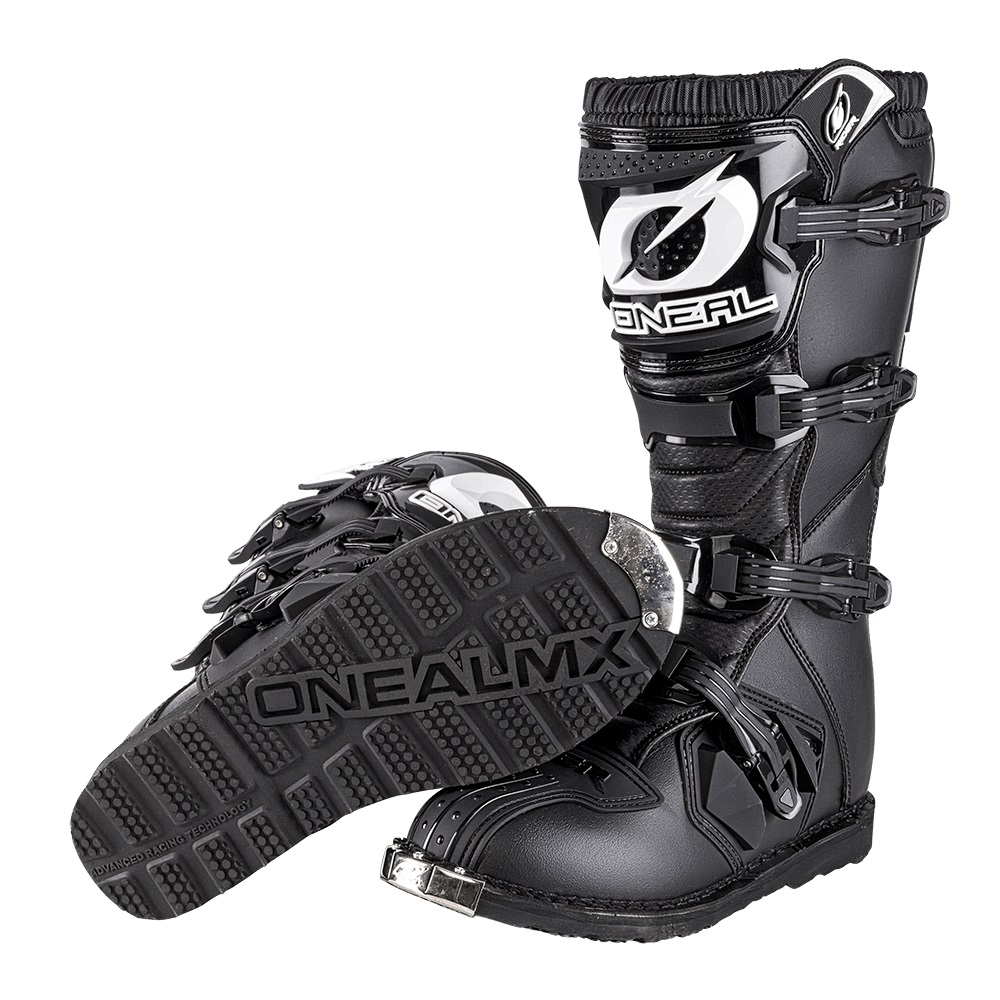 ONEAL Rider Motocross/Enduro Boots (Black)