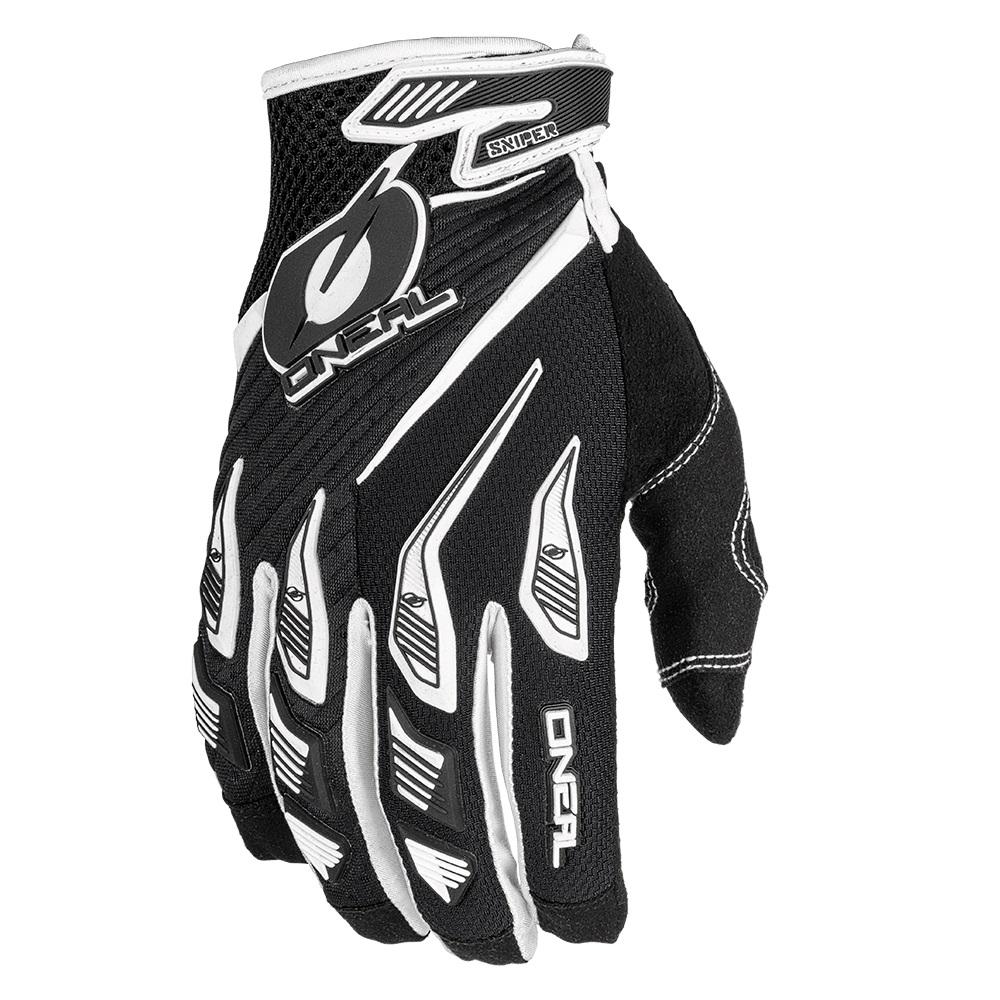 ONEAL Sniper Elite Gloves Black & White