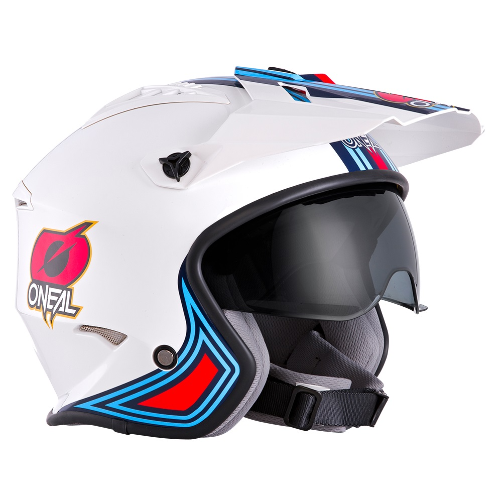 ONEAL Volt Trials Helmet MN1 - With Drop Down Sun Visor