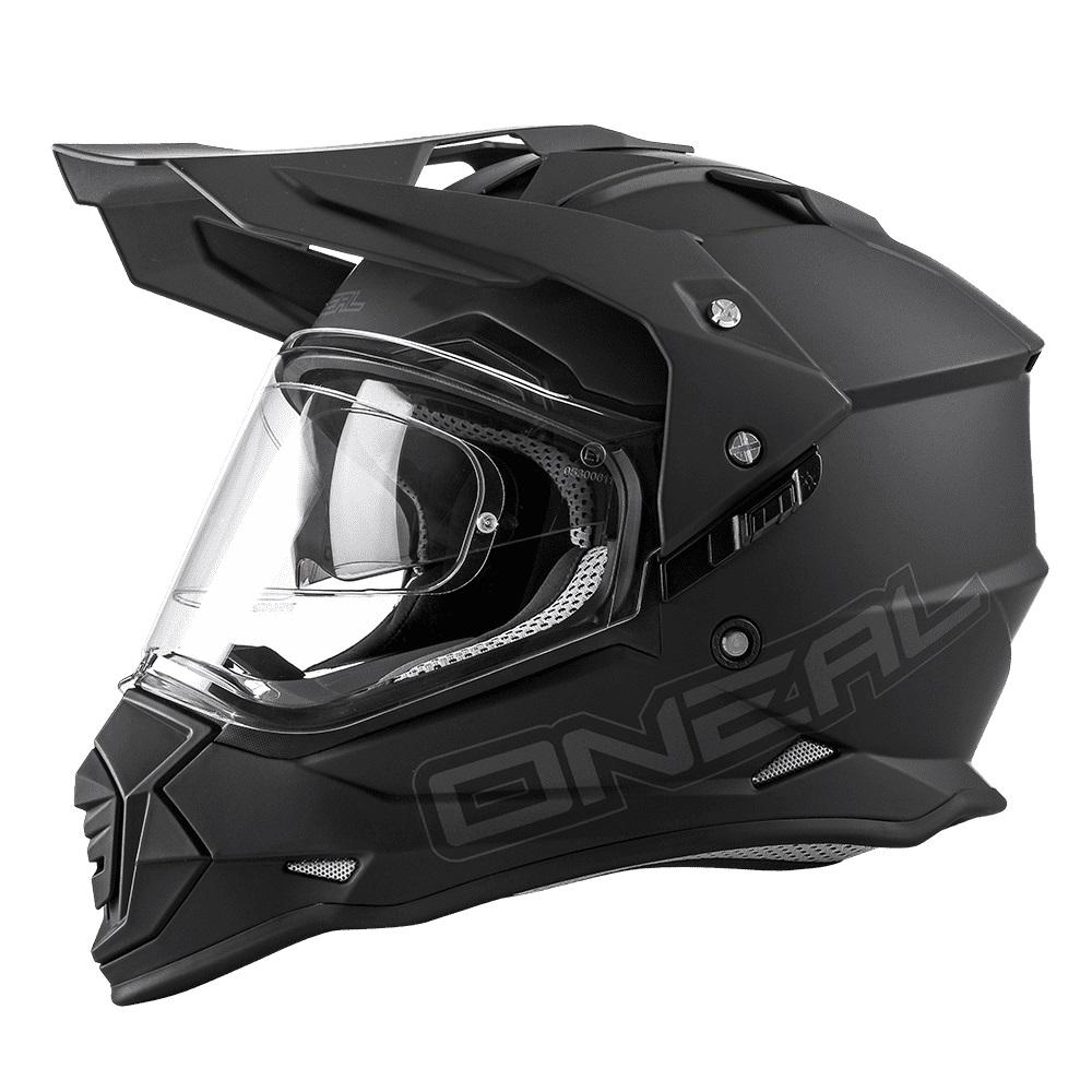 ONEAL SIERRA II FLAT Black Enduro Helmet
