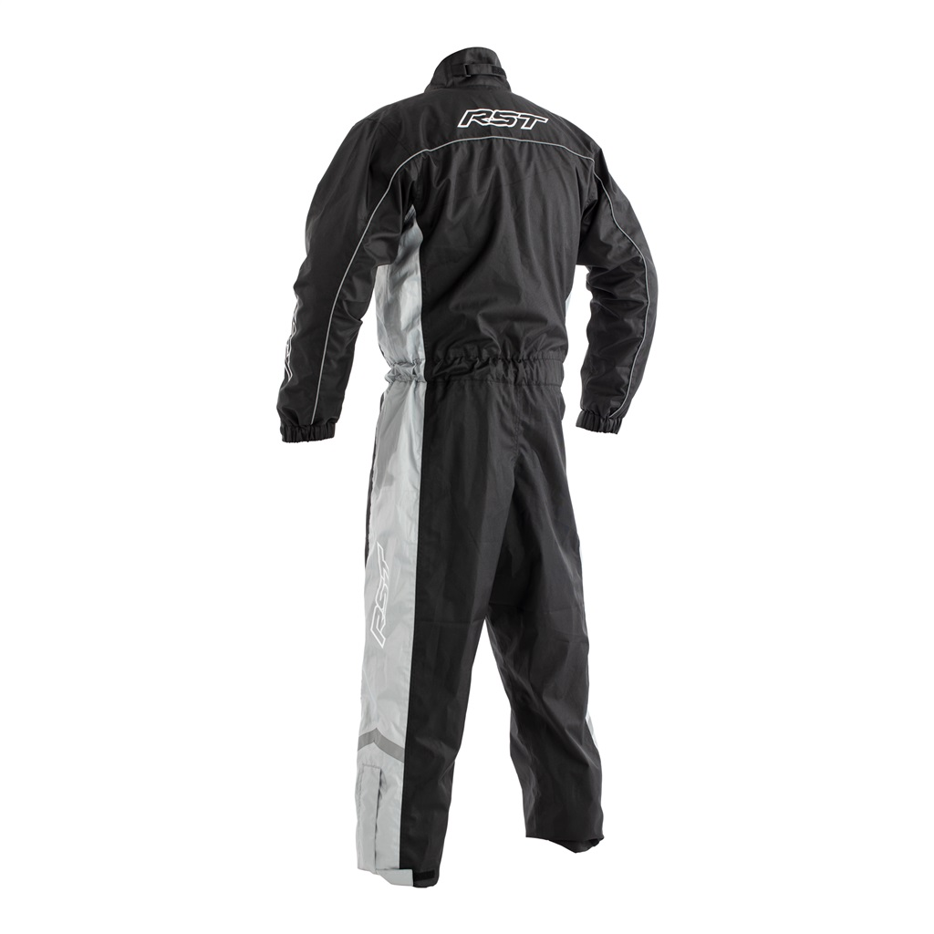 RST Waterproof Rain Suit 1-Piece Grey/Hi-Viz