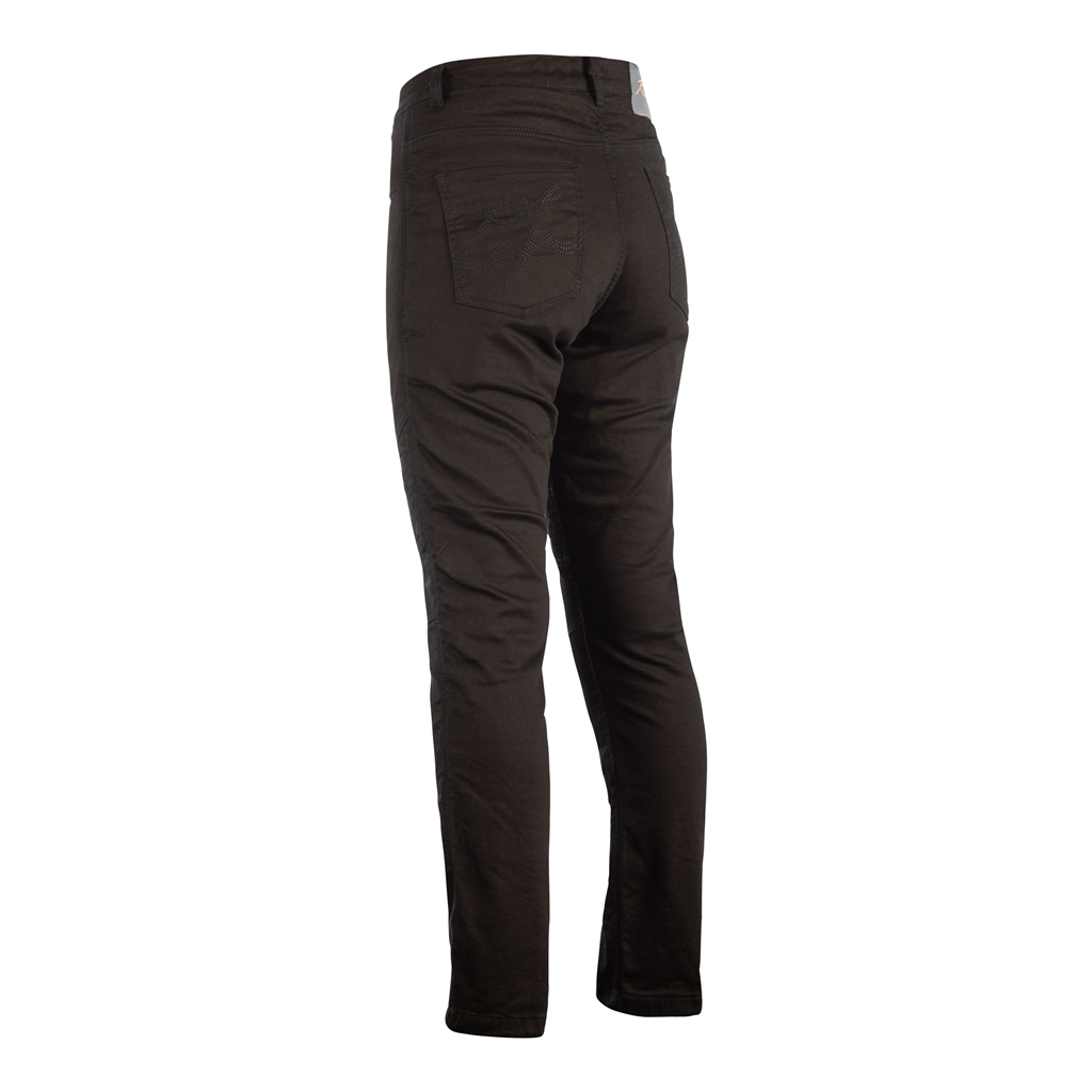 RST Ladies Aramid Straight Leg CE Jeans - Black