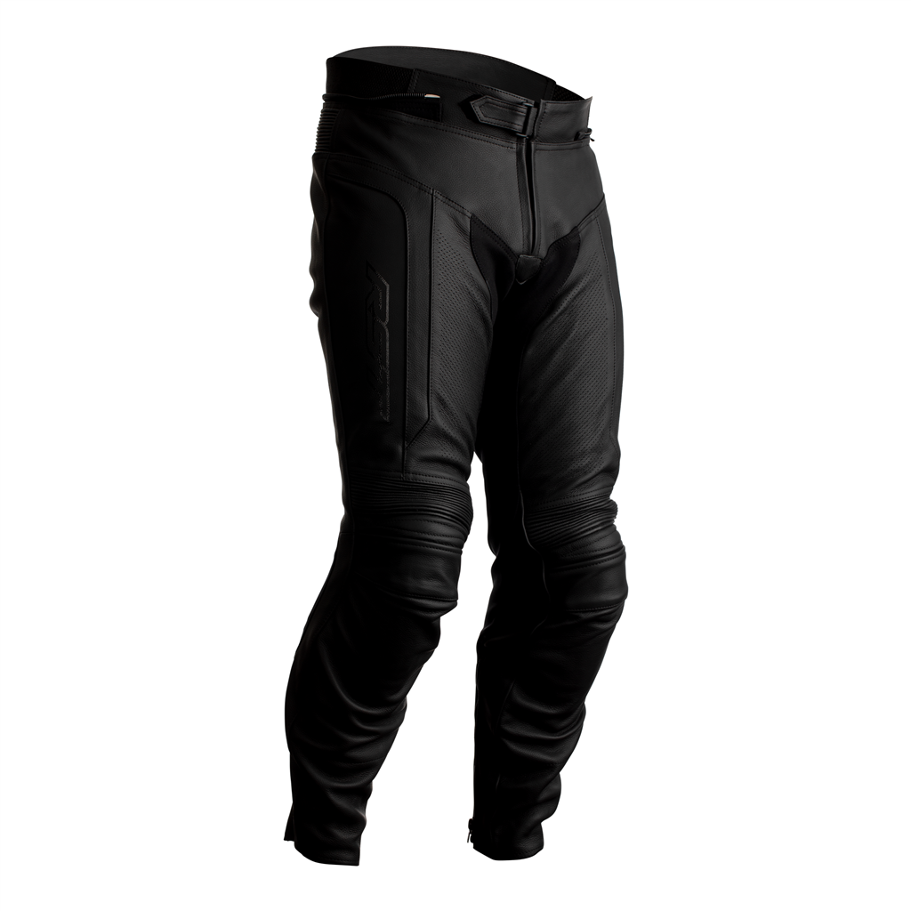 RST Axis Leather Motorcycle Jeans CE (Black)