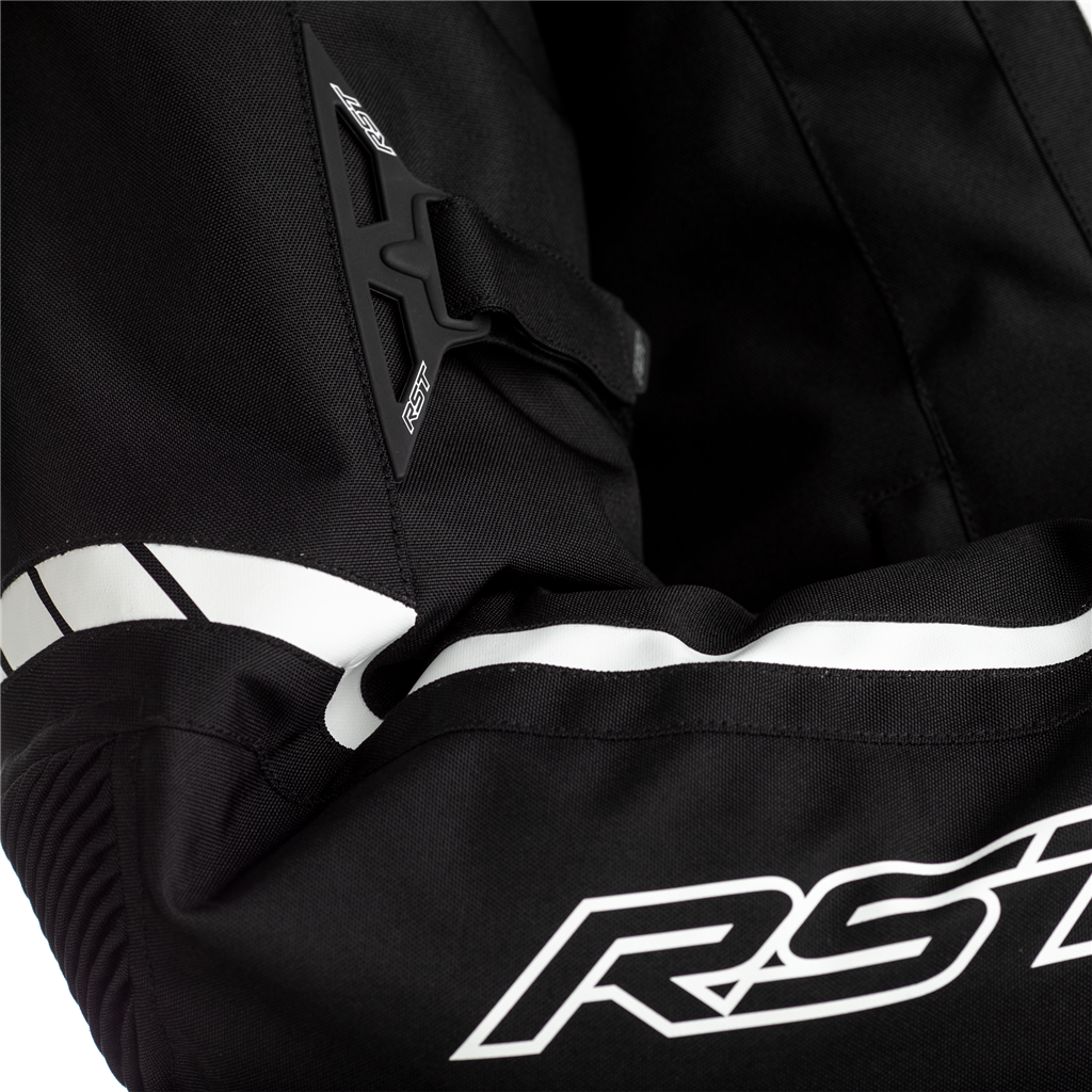 RST Axis Motorcycle Jacket CE (Black/Black/White)