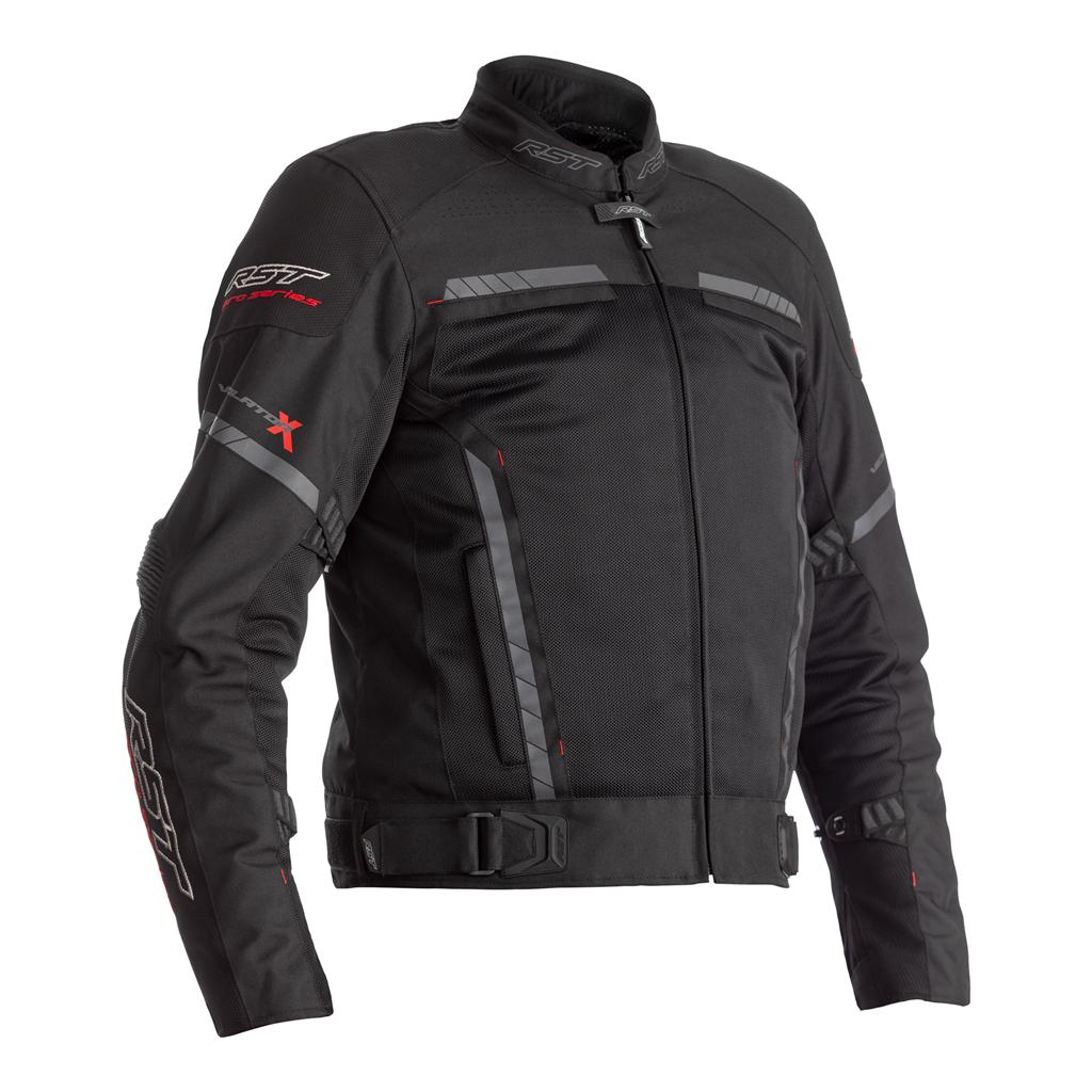 RST Pro Series Ventilator-X Motorcycle Jacket CE (Black/Black)