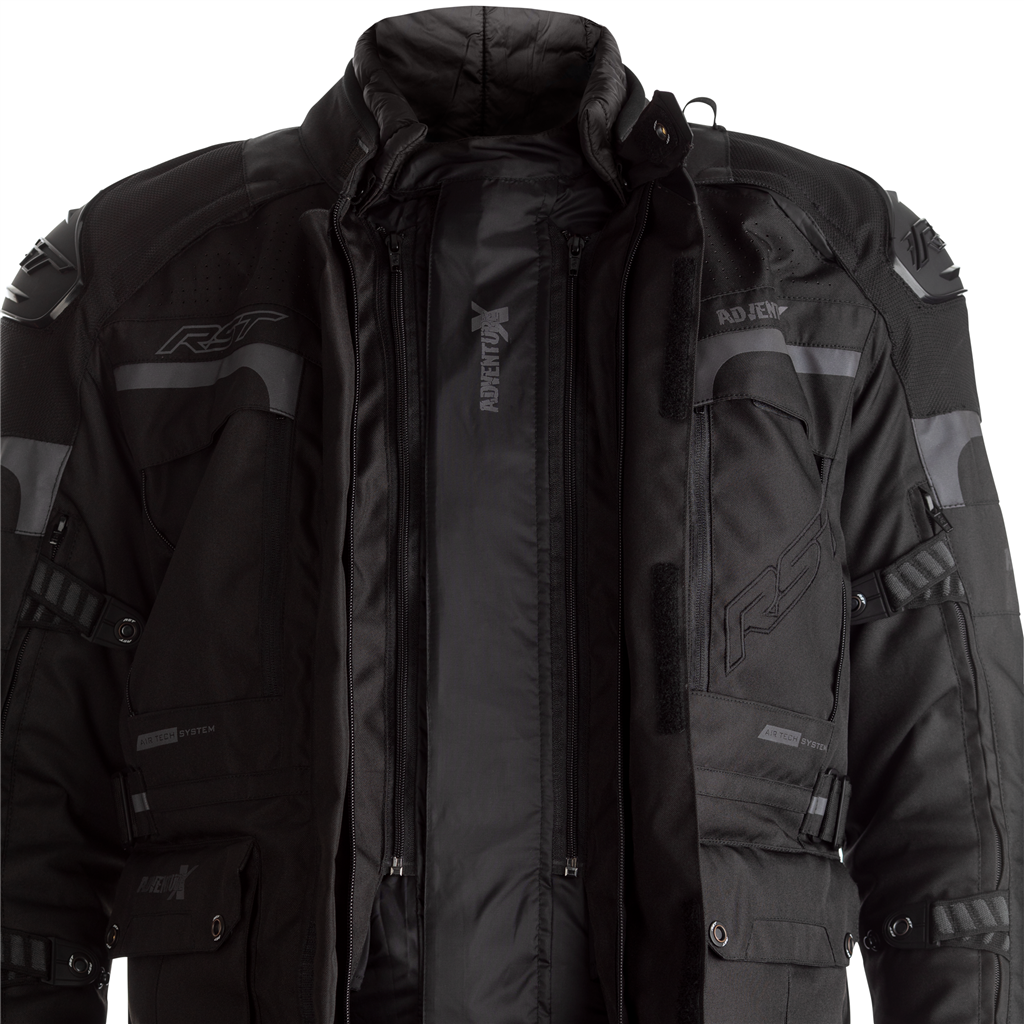 RST Pro Series Adventure-X Motorcycle Jacket CE (Black)