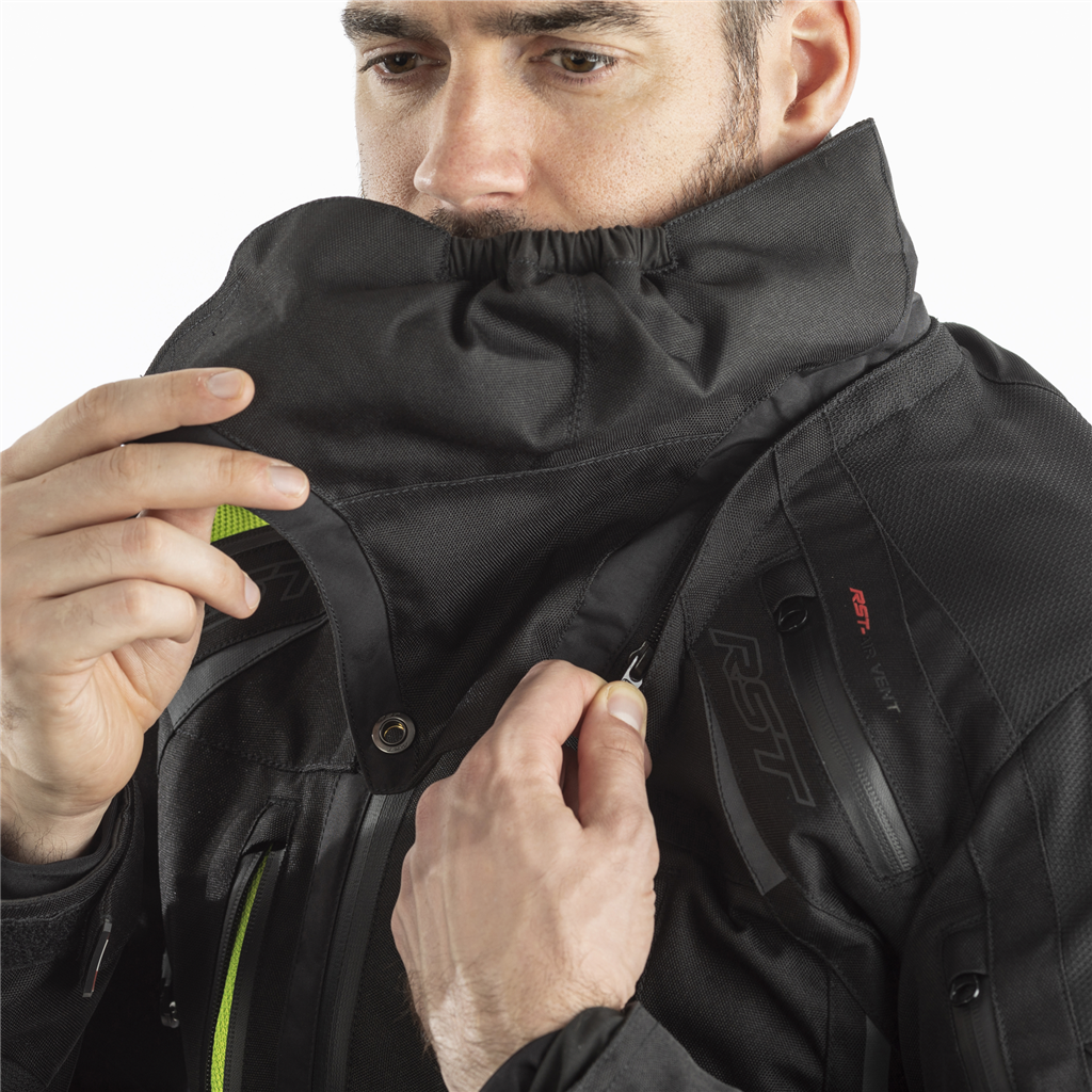 RST Mens Pro Series Paragon V CE Textile Jacket - Black