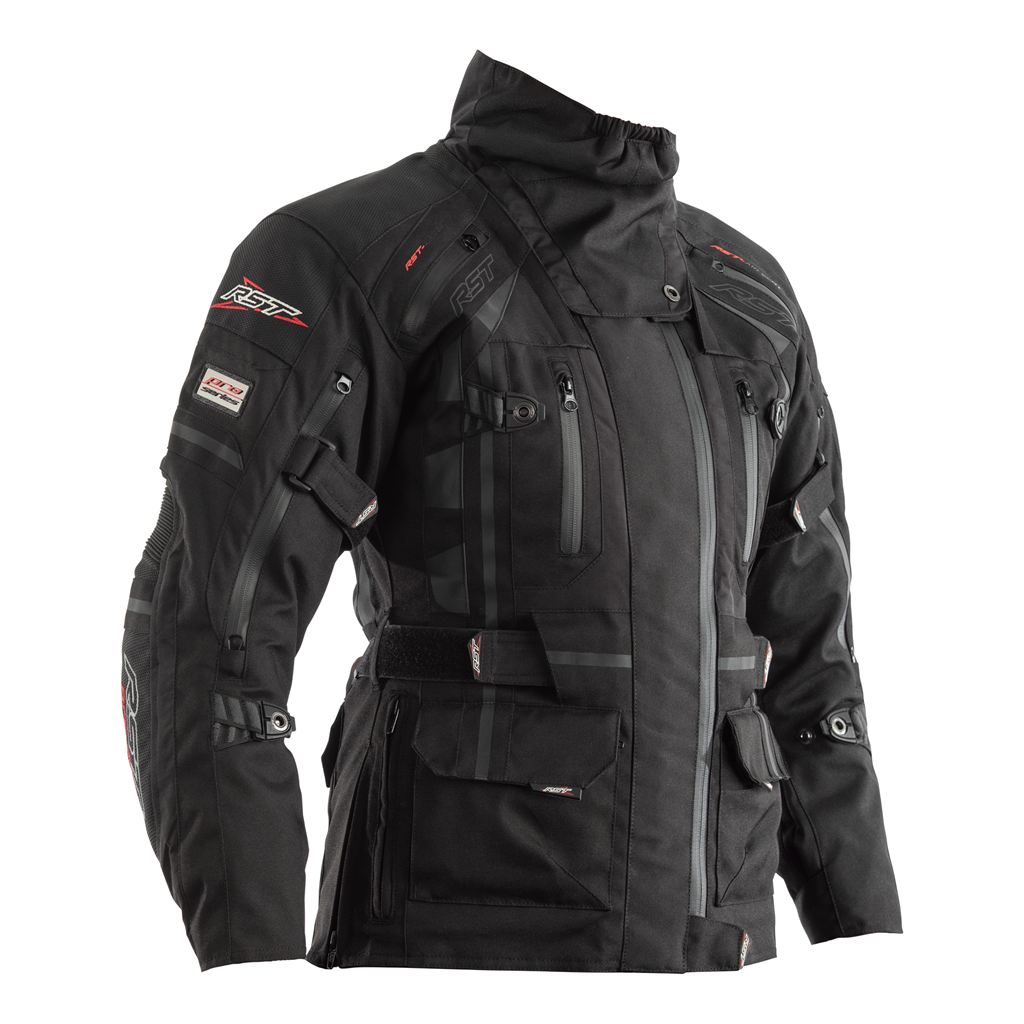 RST Ladies Pro Series Paragon V CE Textile Jacket - Black