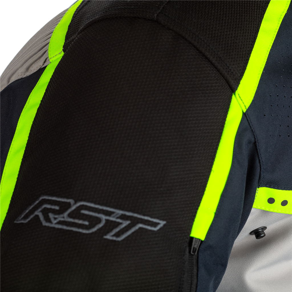RST Maverick Ladies Motorcycle Jacket (Blue / Neon)