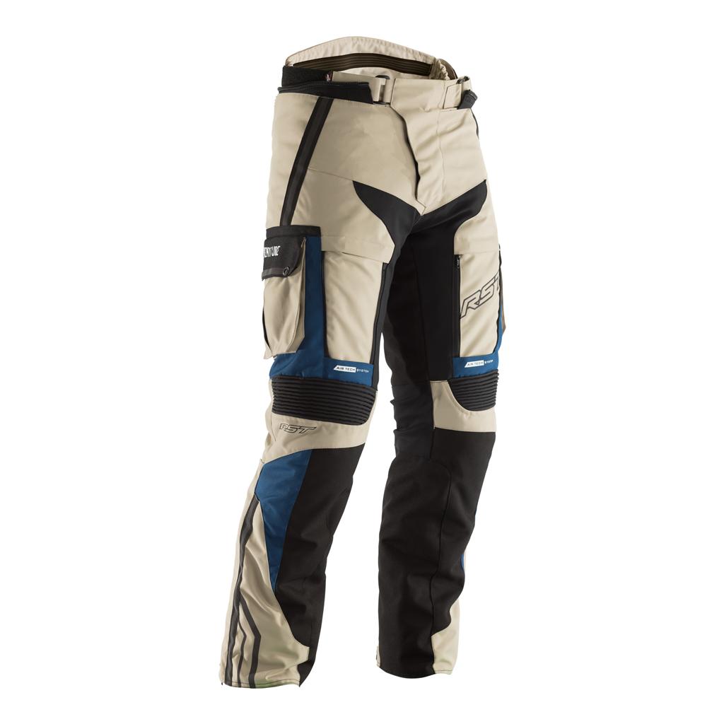 RST Pro Series Adventure III CE Men's Textile Jeans - Sand/Blue
