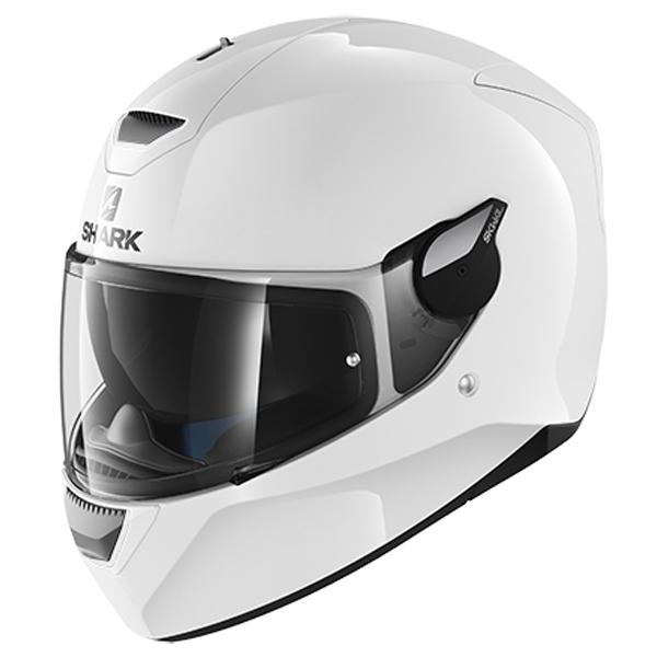 SHARK D-SKWAL Blank White Helmet