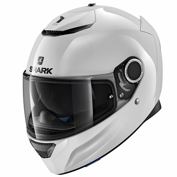 Shark Spartan Motorcycle Helmet Black/White image