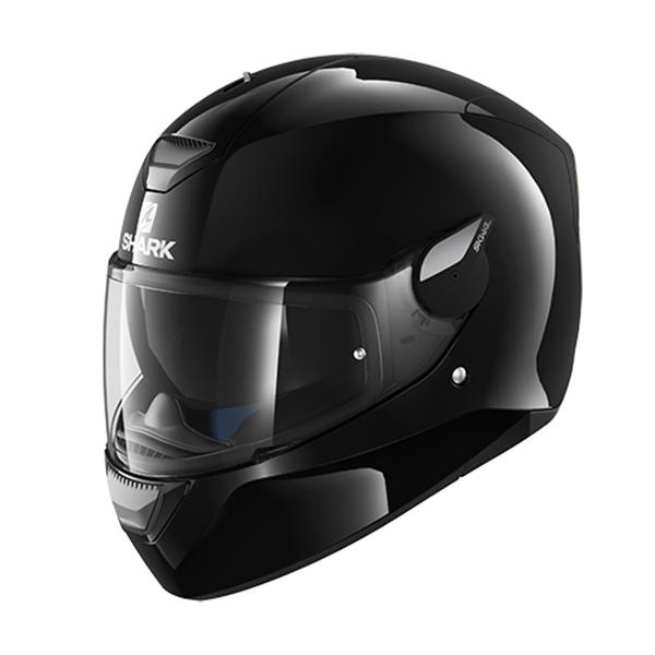 SHARK D-SKWAL Blank Black Helmet