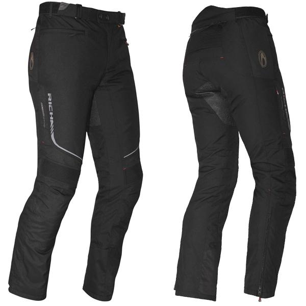 Richa Colorado Mens Motorcycle Trousers (Black)