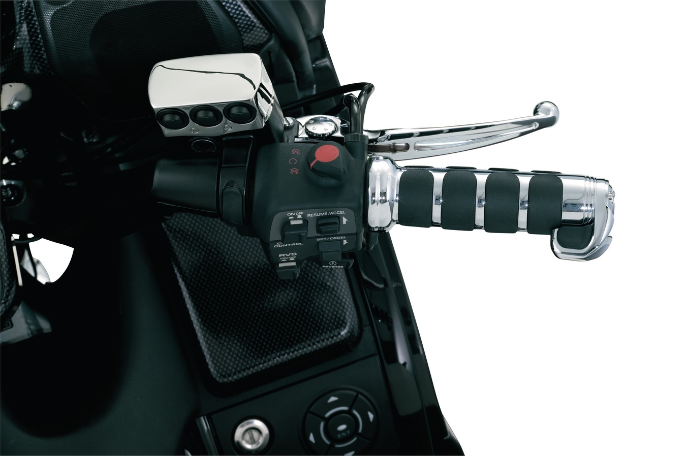 Kuryakyn ISO Grip Covers For Heated Grips