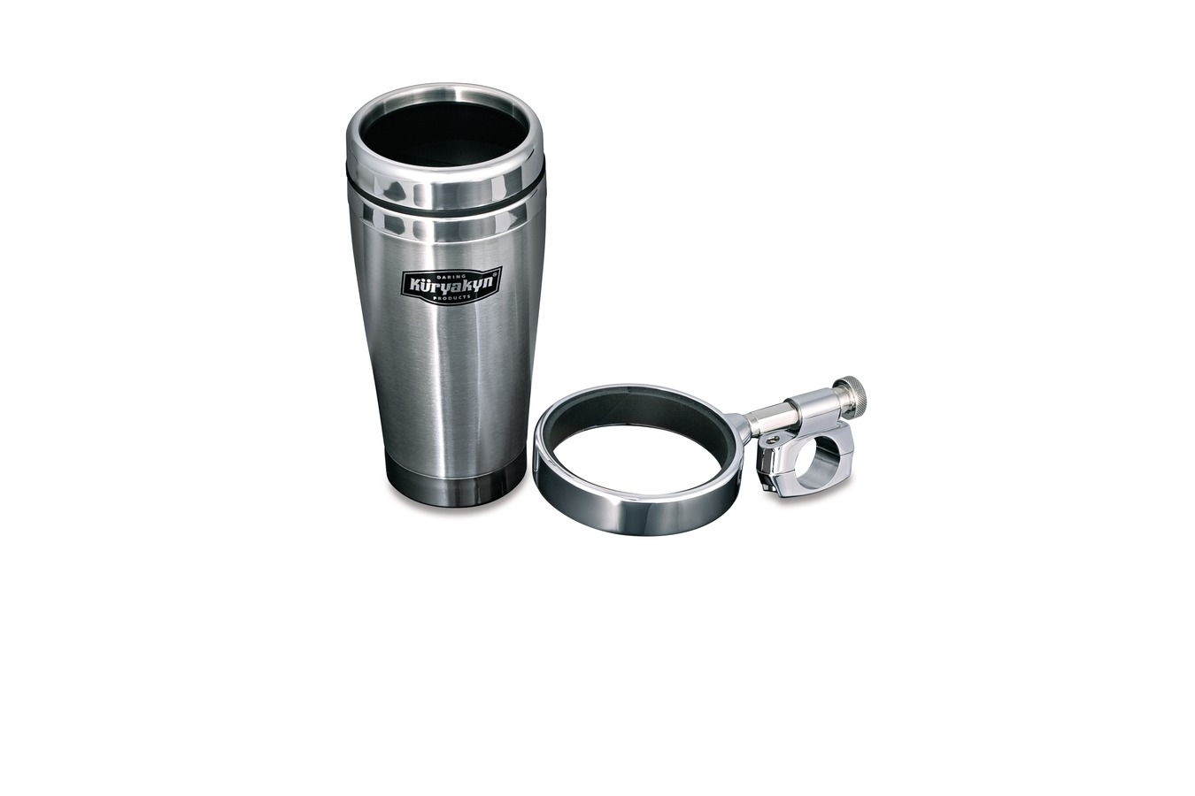 Kuryakyn Stainless Steel Mug Drink Holder