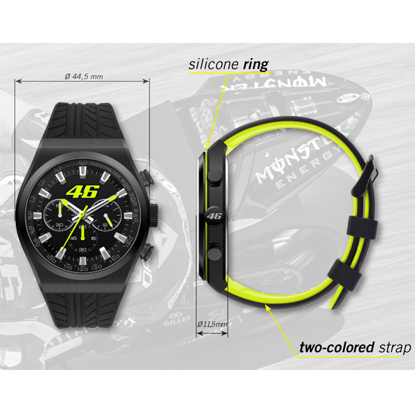 VR46 Chronograph Watch