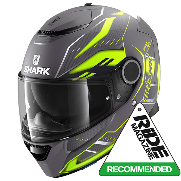 Shark Spartan 1.2 Antheon Motorcycle Helmet Matt Grey