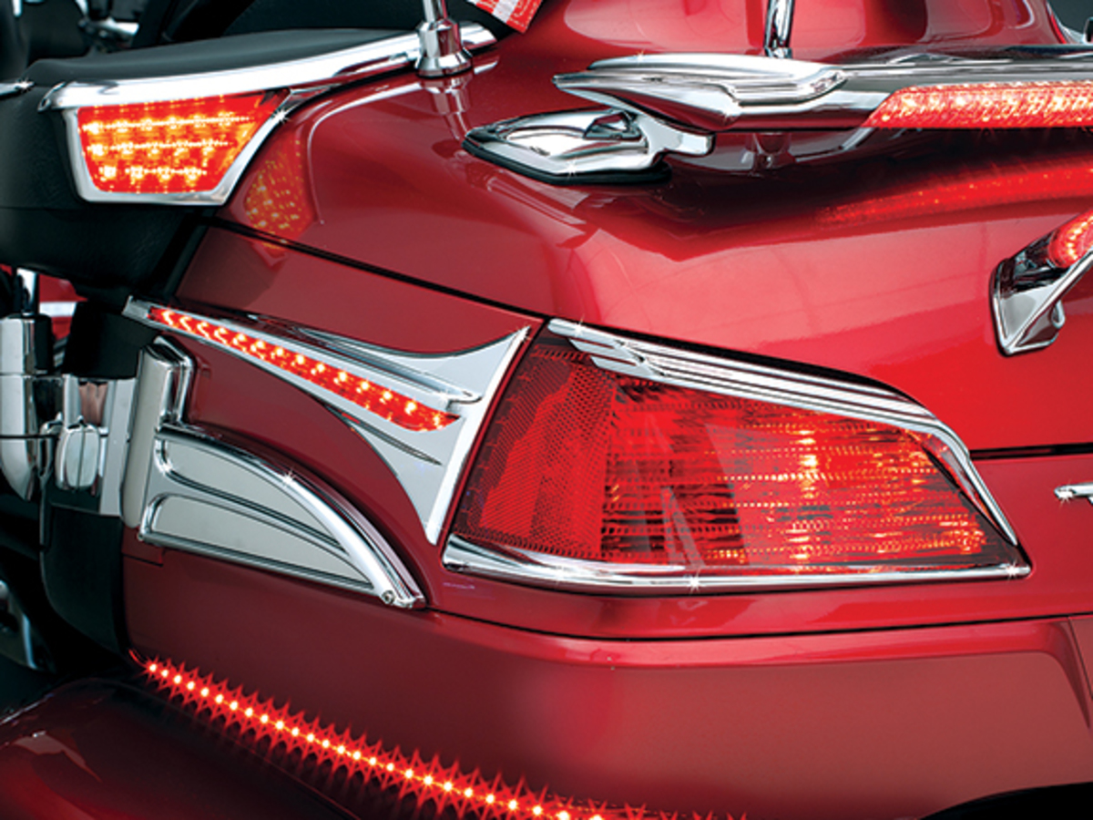 Kuryakyn Goldwing GL1800 Trunk Taillight Visors