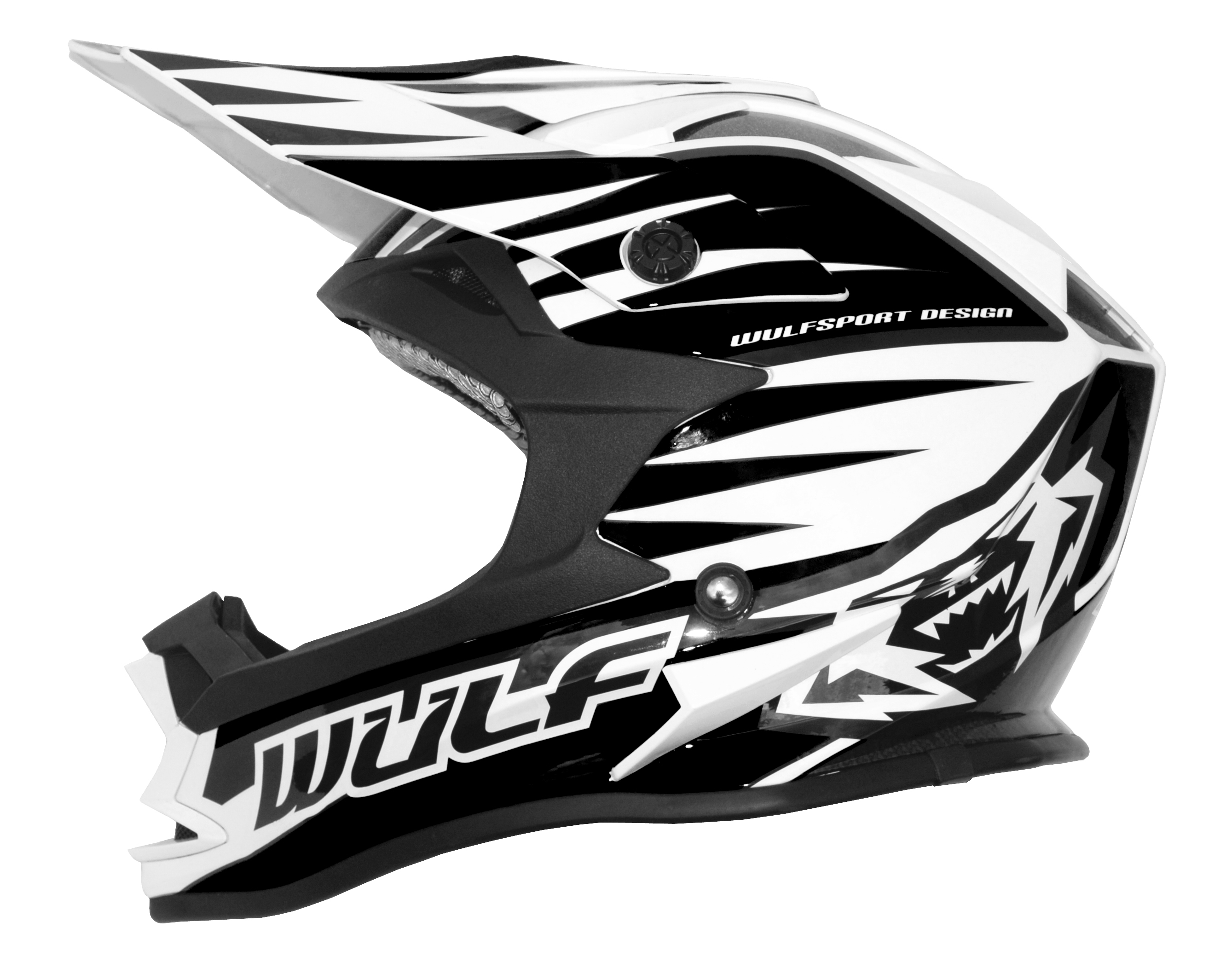 Wulfsport Advance Junior Helmet Kids Black