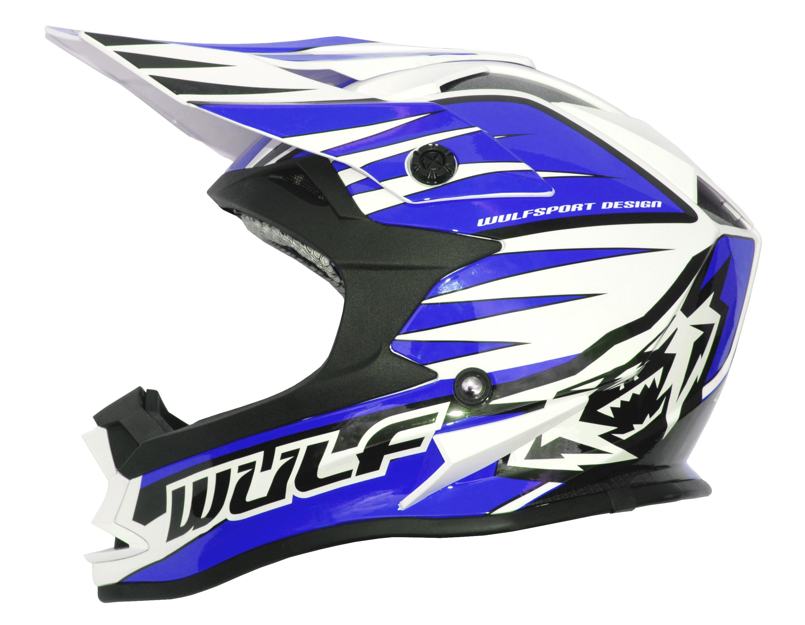 Wulfsport Advance Junior Helmet Kids Blue