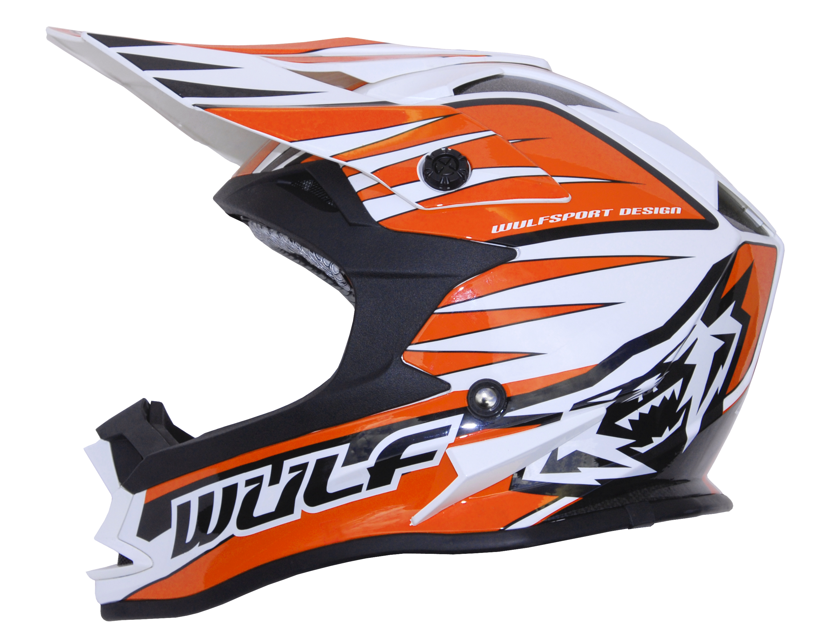 Wulfsport Advance Helmet Adults Orange L