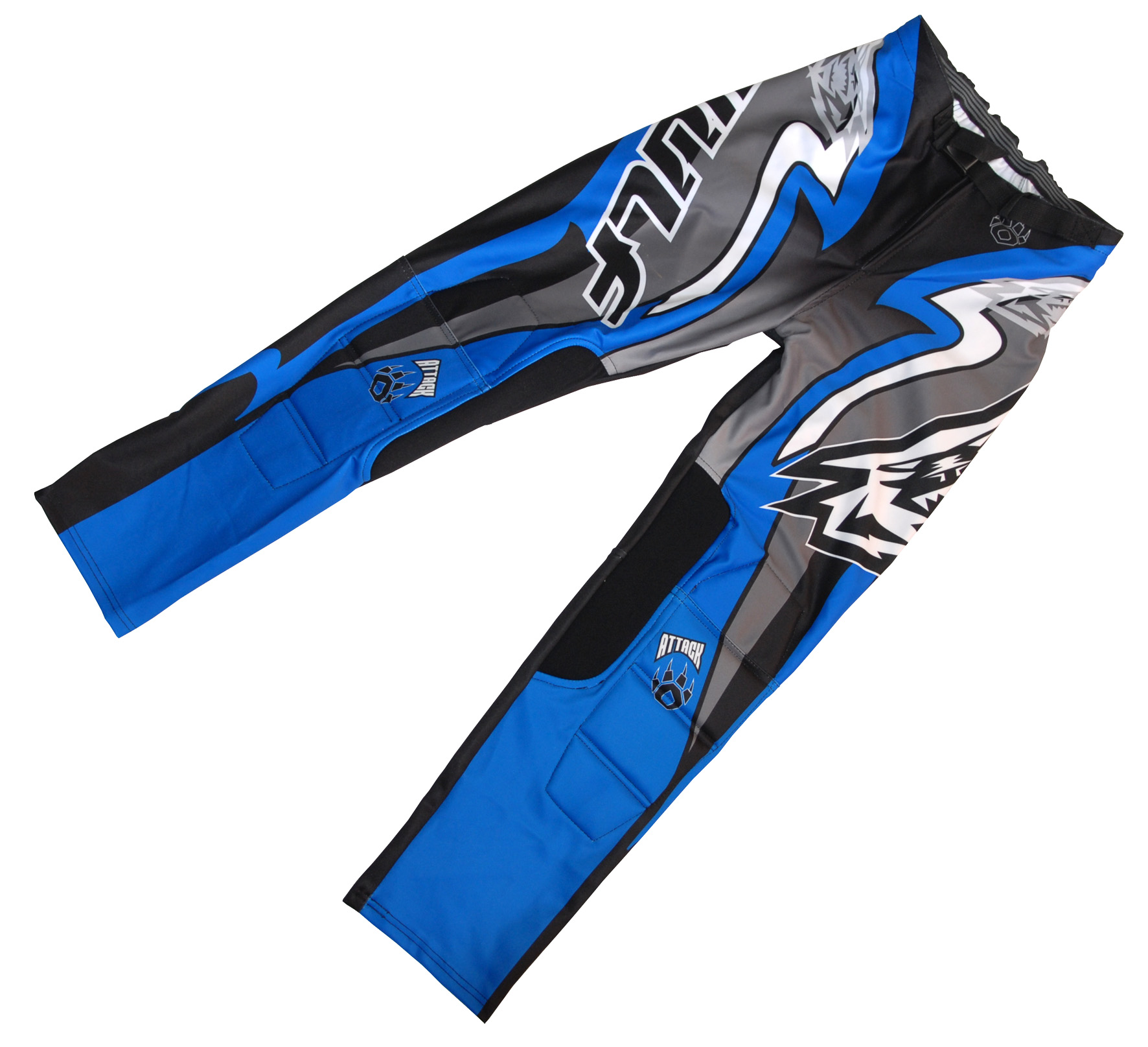 Wulfsport Trials Pants Attack Blue Black