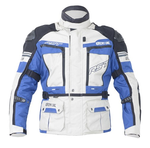 RST Pro Series Adventure III CE Men's Textile Jacket - Sand/Blue