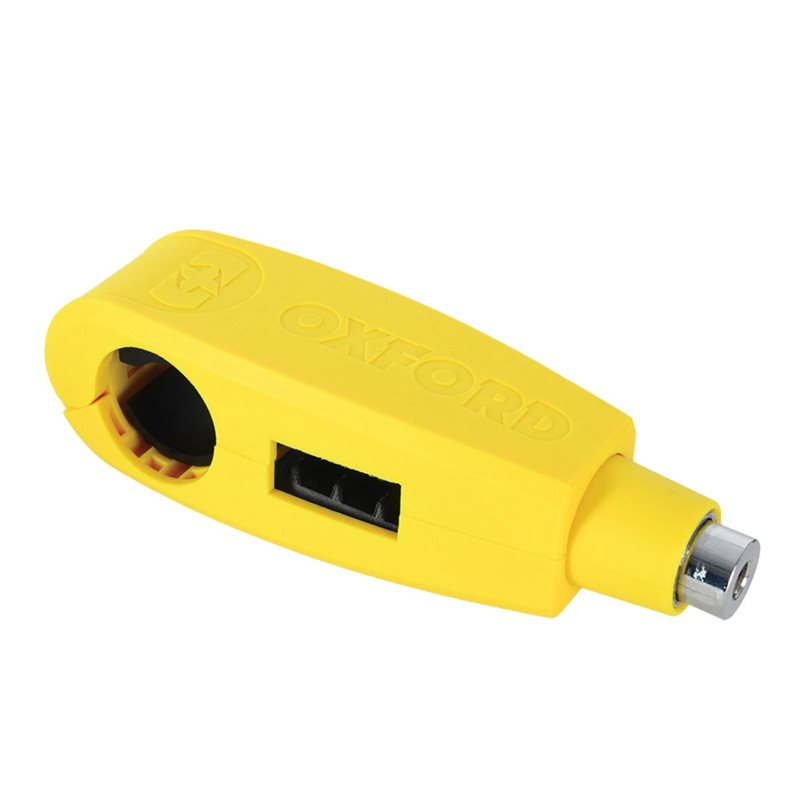Oxford Products Lever Lock - Yellow